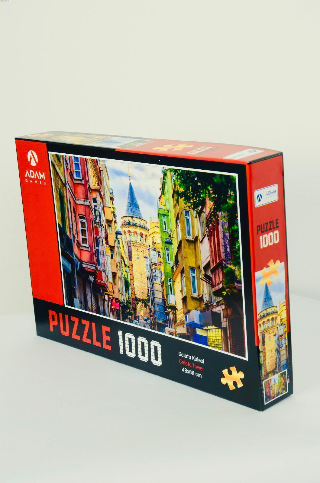 Adam Games Galata Kulesi 1000 Parça Puzzle 48x68