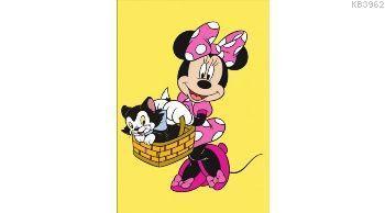 Minnie Mouse Poşetli Orta Boy Kum Boyama