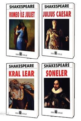 William Shakespeare Klasikleri 4 Kitap Set