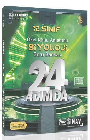2019 24 Adımda 10. Sınıf Özel Konu Anlatımlı Biyoloji Soru Bankası