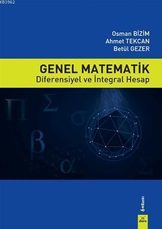 Genel Matematik; Diferensiyel ve İntegral Hesap