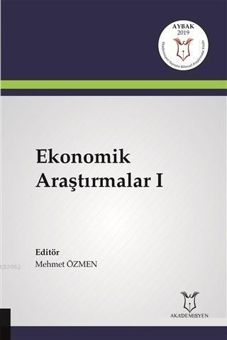 Ekonomik Araştırmalar 1