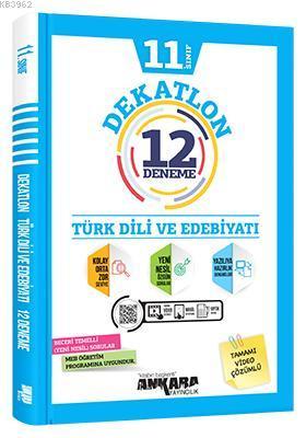 11.Sınıf Dekatlon Türk Dili ve Edebiyatı 12 Deneme