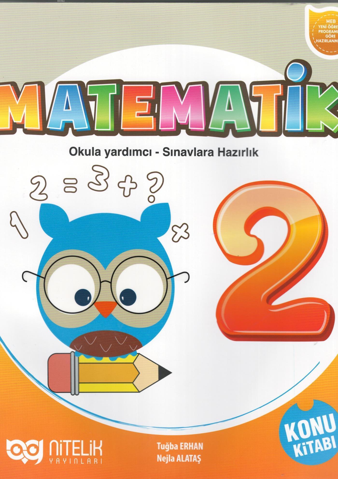 Nitelik Yayınları 2. Sınıf Matematik Konu Kitabı Nitelik