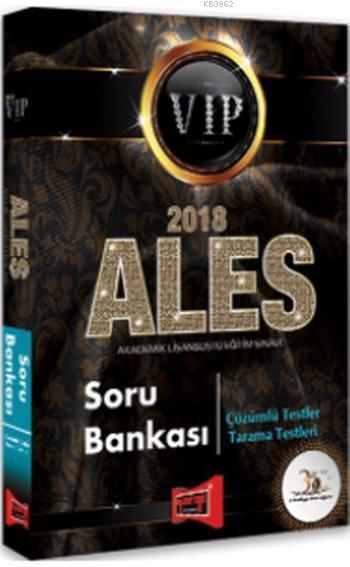 2018 ALES VIP Soru Bankası