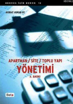 Apartman/Site/Toplu Yapı Yönetimi