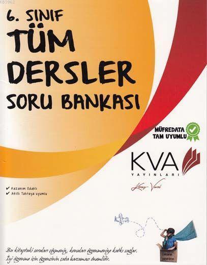 KVA Yayınları 6. Sınıf Tüm Dersler Soru Bankası