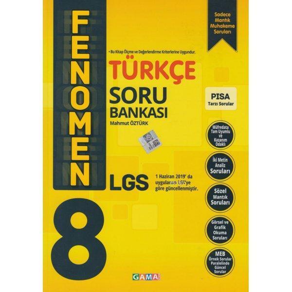 Gama Fenomen 8.Sınıf Türkçe Soru Bankası