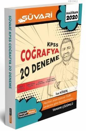 Kariyer Meslek 2020 KPSS Süvari Coğrafya Tamamı Çözümlü 20 Deneme