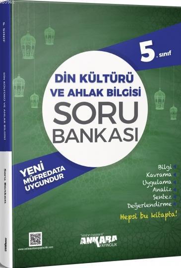 5.Sınıf Din Kültürü ve Ahlak Bilgisi Soru Bankası Ankara Yayıncılık