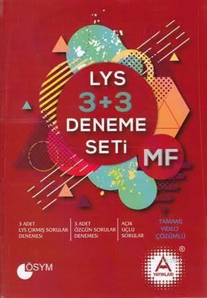 LYS 3 + 3 MF Deneme Seti