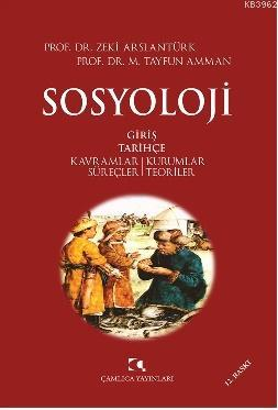 Sosyoloji; Kavramlar / Kurumlar / Süreçler / Teoriler