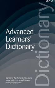 Advanced Learners Dictionary