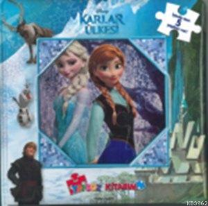 Disney Karlar Ülkesi - İlk Yapboz Kitabım; Yapboz Kitapları, 3+ Yaş