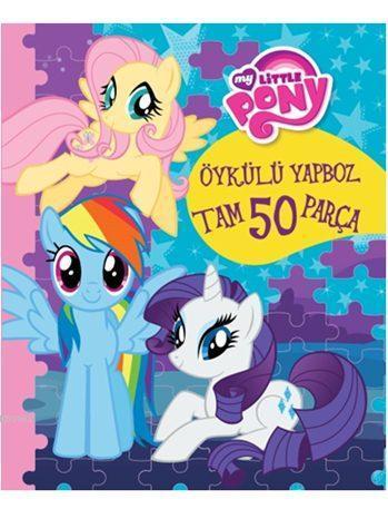 My Little Pony Öykülü Yapboz Kitabım (50 Parça, 3+ Yaş)