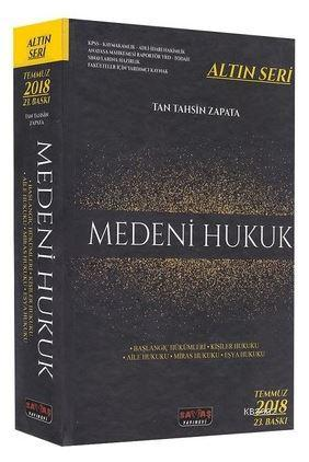 2018 Medeni Hukuk Altın Seri