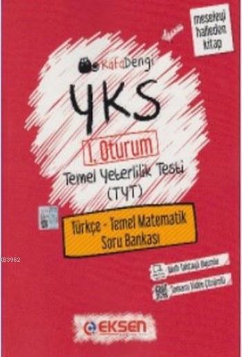 Kafadengi YKS TYT Türkçe-Temel Matematik Soru Bankası; 1. Oturum