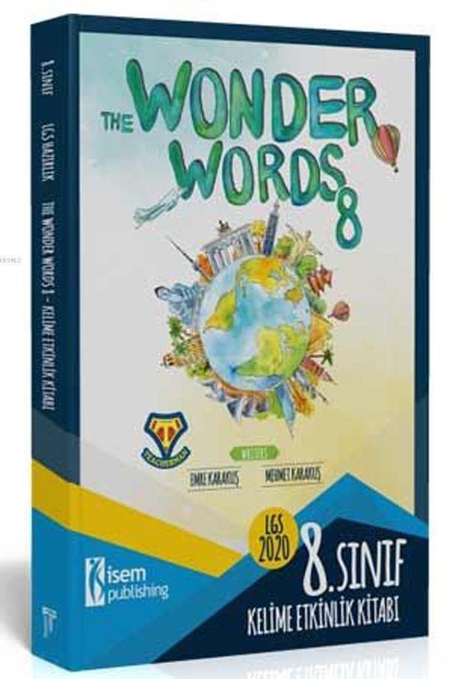 İsem Yayınları 8. Sınıf LGS İngilizce Etkinlik Kitabı The Wonder Words