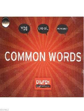 Dilfem YDS Common Words Cep