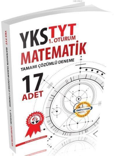 YKS TYT Matematik Tamamı Çözümlü 17'li Deneme 1. Oturum