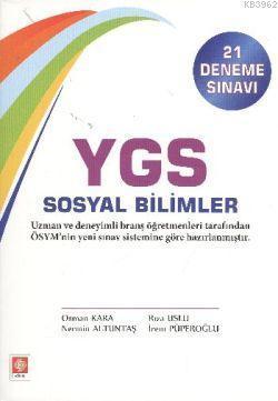Ekin YGS Sosyal Bilimler (21 Deneme Sınavı)