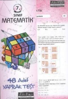 7. Sınıf Matematik Yaprak Test