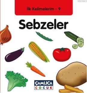 Sebzeler; İlk Kelimelerim 9