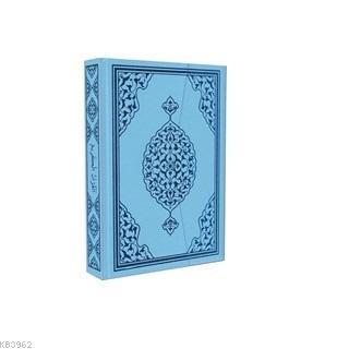 Bilgisayar Hatlı Mavi Renk Hafiz Boy Kur'an-ı Kerim