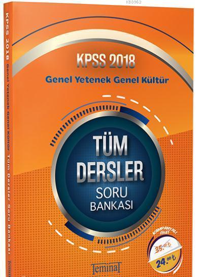 KPSS Genel Yetenek Genel Kültür Tüm Dersler Soru Bankası