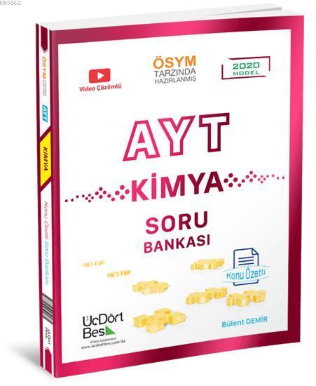 345 - AYT Kimya Soru Bankası