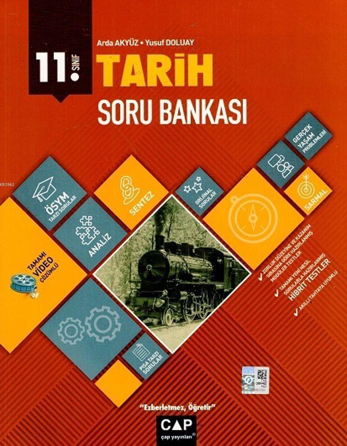 Çap Yayınları 11. Sınıf Anadolu Lisesi Tarih Soru Bankası Çap