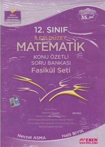 12. Sınıf İleri Düzey Matematik Konu Özetli Soru Bankası Fasikül Seti