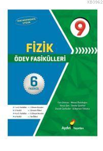 Aydın Yayınları 9. Sınıf Fizik Ödev Fasikülleri Aydın