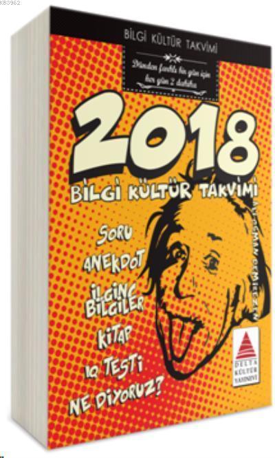 Bilgi Kültür Takvimi 2018