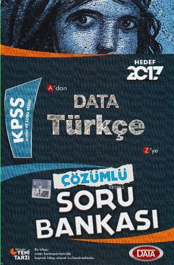 KPSS Türkçe Çözümlü Soru Bankası 2017