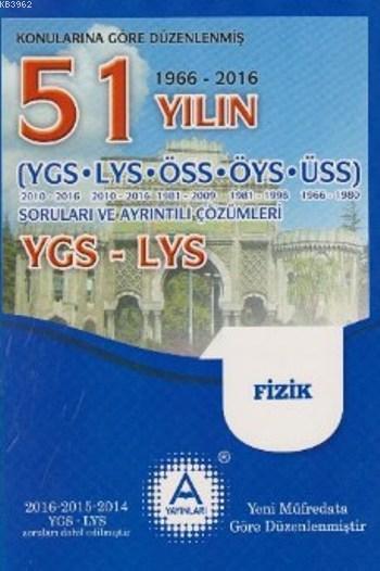 51 Yılın YGS LYS Fizik Soruları ve Ayrıntılı Çözümleri