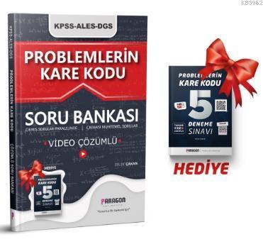 2021 Problemlerin KareKodu KPSS-ALES-DGS Tamamı Video Çözümlü Soru Bankası