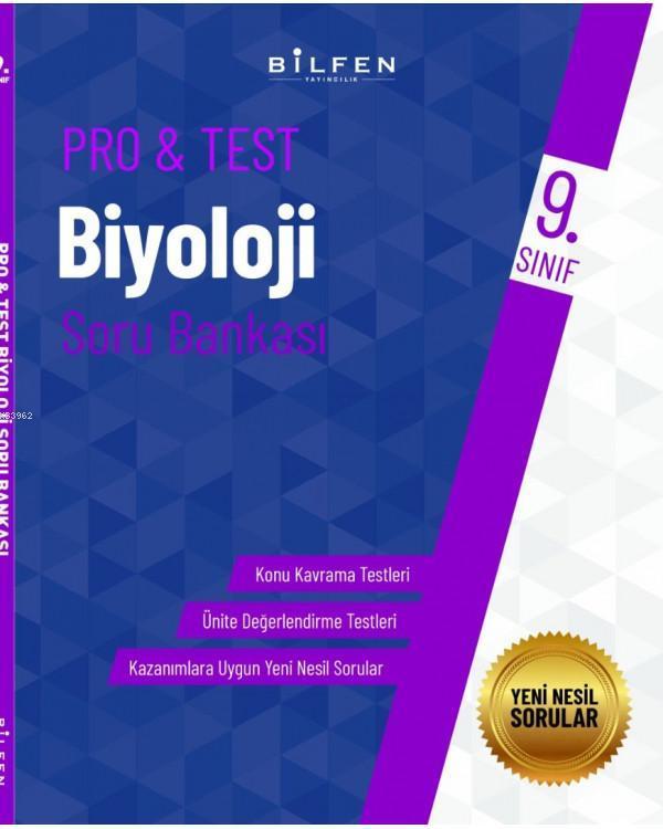 Bilfen Yayıncılık 9. Sınıf Pro&Test Biyoloji Soru Bankası