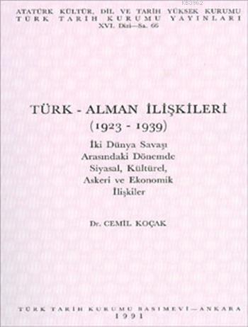 Türk-Alman İlişkileri (1923-1939)