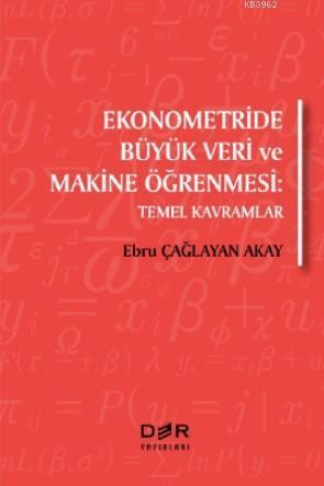 Ekonometride Büyük Veri ve Makine Öğrenmesi; Temel Kavramlar