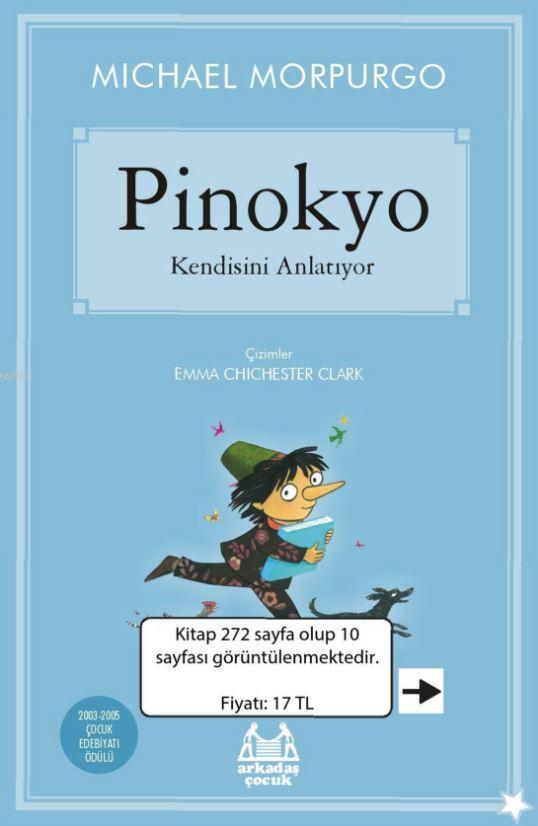 Pinokyo Kendisini Anlatıyor