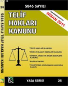 Telif Hakları Kanunu; (Yasa Serisi 28)