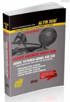 Kaldıraç - Sadece Hakimlik Sınavı İçin GY-GK Soru Bankası Savaş Yayınları 2020