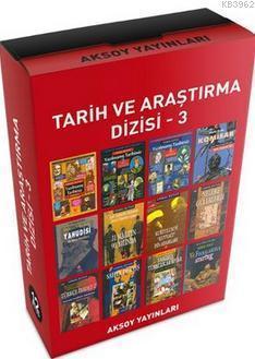 Tarih ve Araştırma Dizisi 3 - 12 Kitap Takım