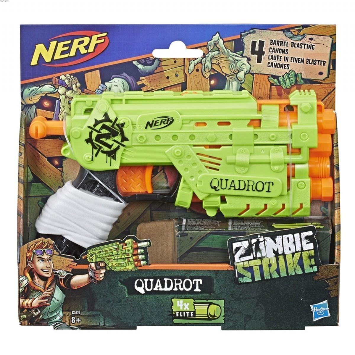 Nerf E2673 Zombie Strike Quadrot