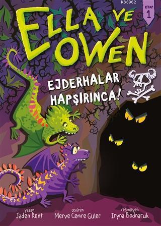 Ella ve Owen 1 - Ejderhalar Hapşırınca! Ciltli