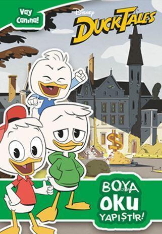 Dısney Duck  Tales - Vay Canına; Boya Oku Yapıştır