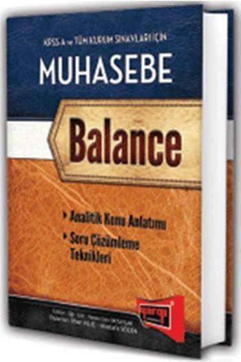 KPSS A ve Tüm Kurum Sınavları İçin Muhasebe Konu Anlatımlı; Balance 2015