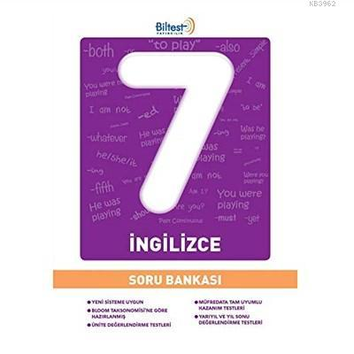 Bilfen - 7. Sınıf İngilizce Biltest Soru Bankası
