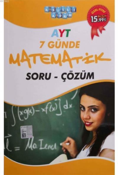 TYT 7 Günde Matematik Soru Çözüm